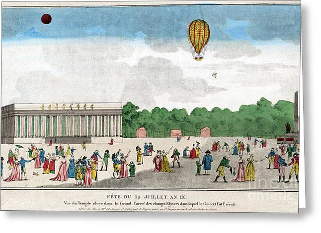 Paris: Bastille Day, C1801 Greeting Card