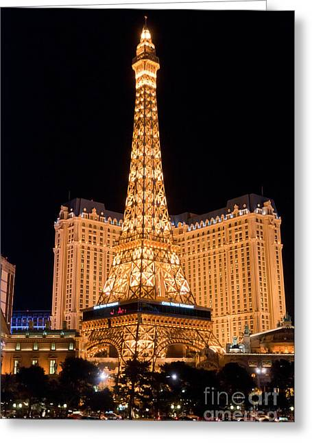 Paris Hotel Greeting Card by Andy Smy