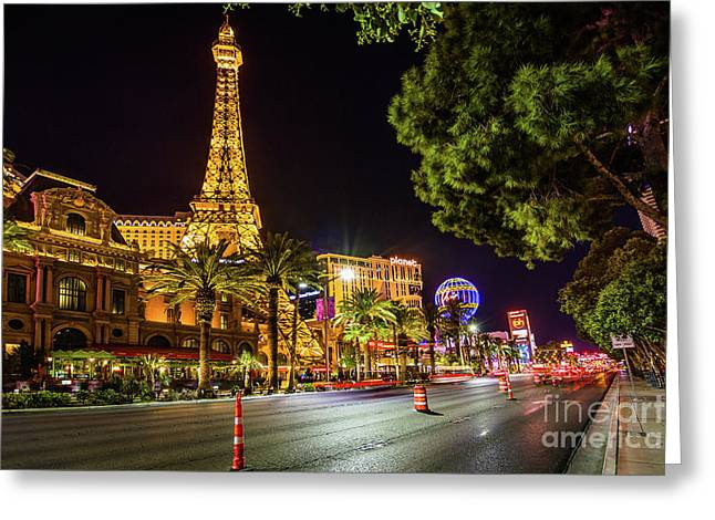 Paris In Vegas Greeting Card
