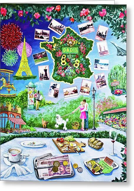 Paris Memories Greeting Card
