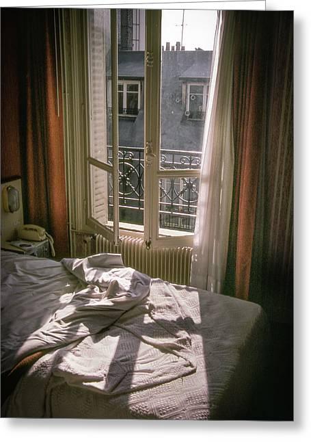 Paris Morning Greeting Card