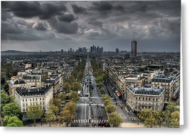 Paris No. 2 Greeting Card by Ryan Wyckoff