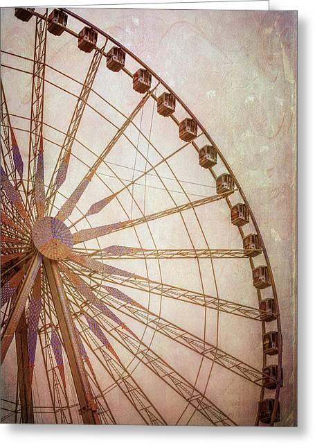 Paris Observation Wheel II Greeting Card