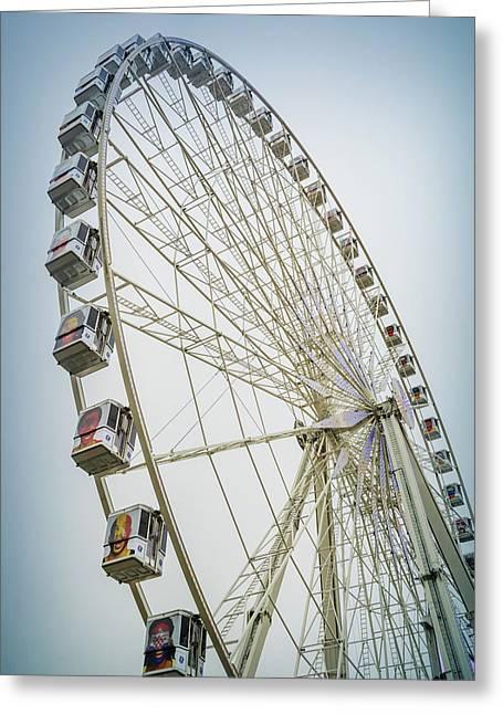 Paris Observation Wheel Greeting Card