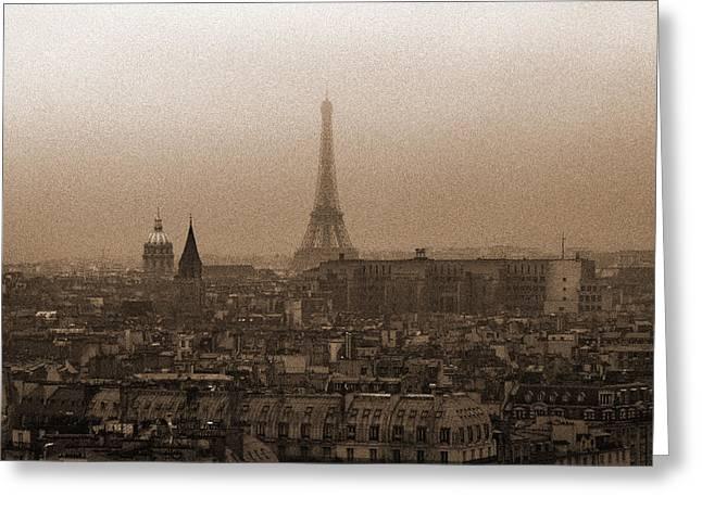 Paris Of Yesteryear IIi Greeting Card