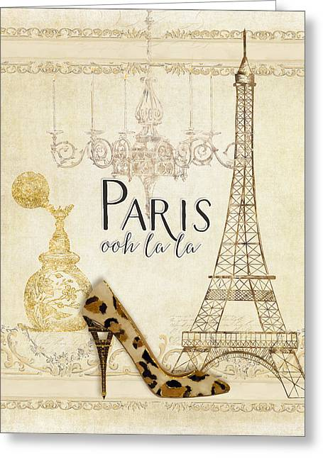 Paris Ooh La La Fashion Eiffel Tower Chandelier Perfume