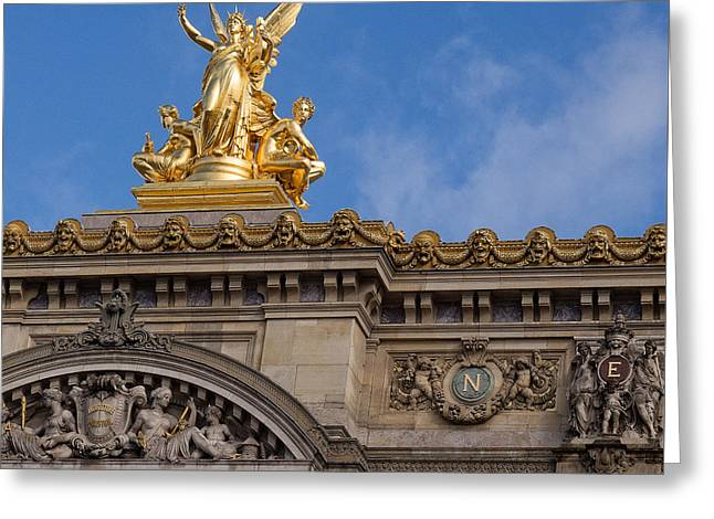 Paris Opera - Harmony Greeting Card