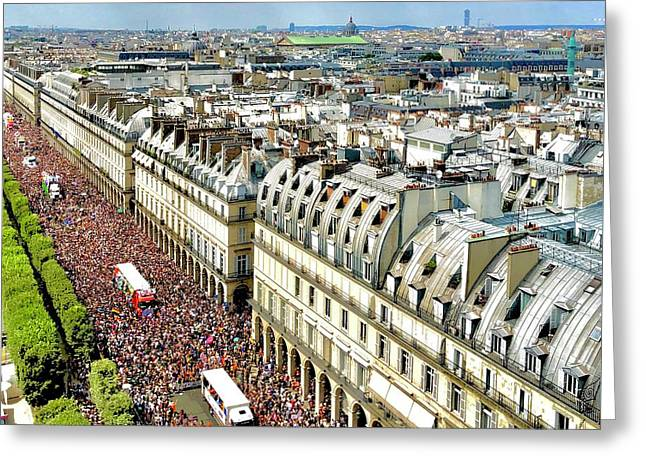 Paris Pride March 2018 Greeting Card