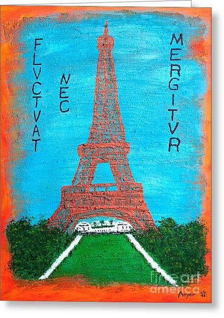 Paris Greeting Card by Sascha Meyer
