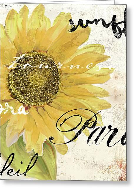 Paris Songs Greeting Card