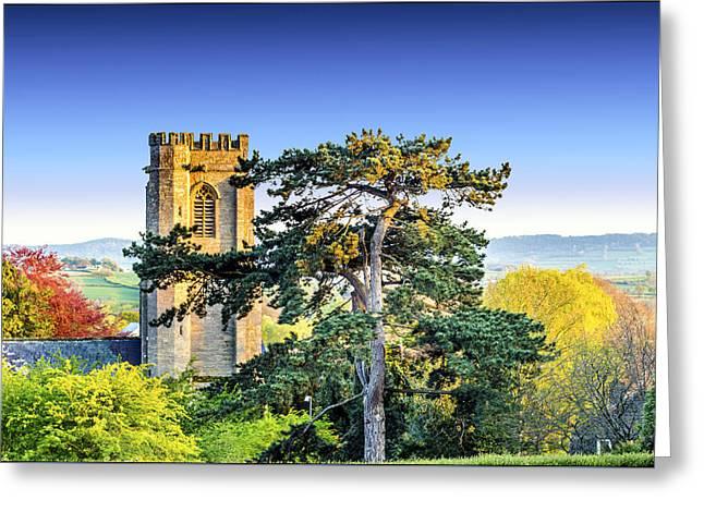 Parish Church Greeting Card by William Hole