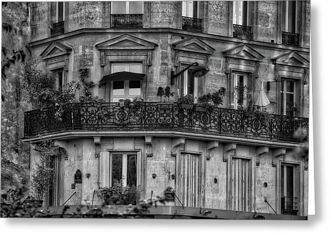 Parisian Apartment Greeting Card