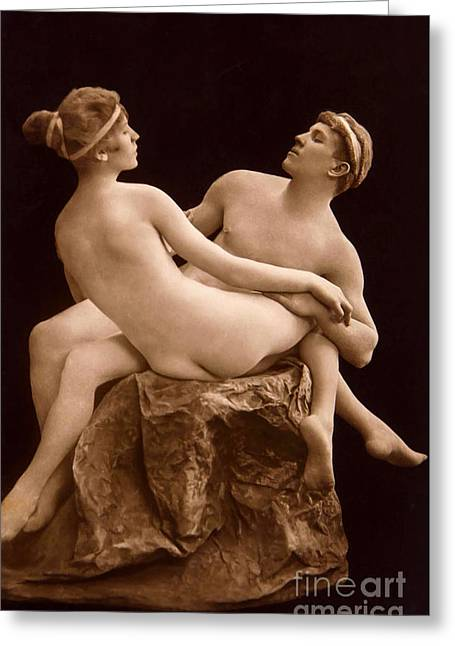 Parisian Nudes, 1923 Greeting Card by French School