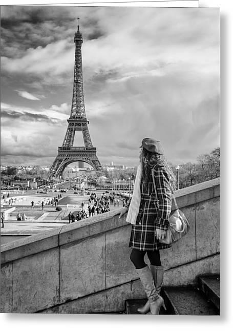 Parisien 2 Greeting Card