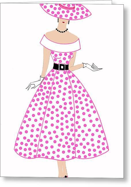 Parisien Chic - Bridgette Greeting Card