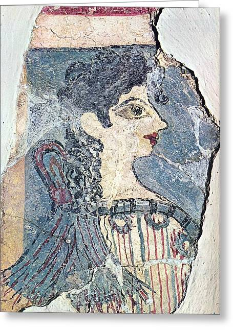 Parisiene Greeting Card by Andonis Katanos