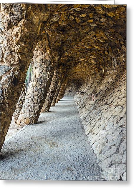 Park Guell Greeting Card