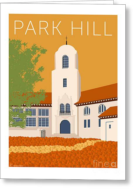 Park Hill Gold Greeting Card