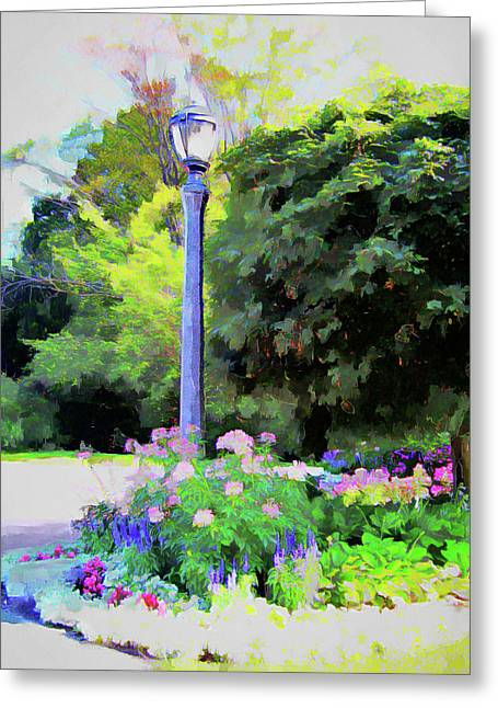 Park Light Greeting Card