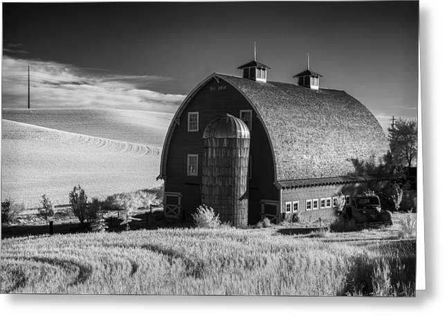 Parked Out Front Greeting Card by Jon Glaser