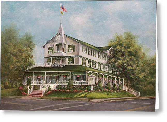 Parker House Sea Girt , Nj Greeting Card