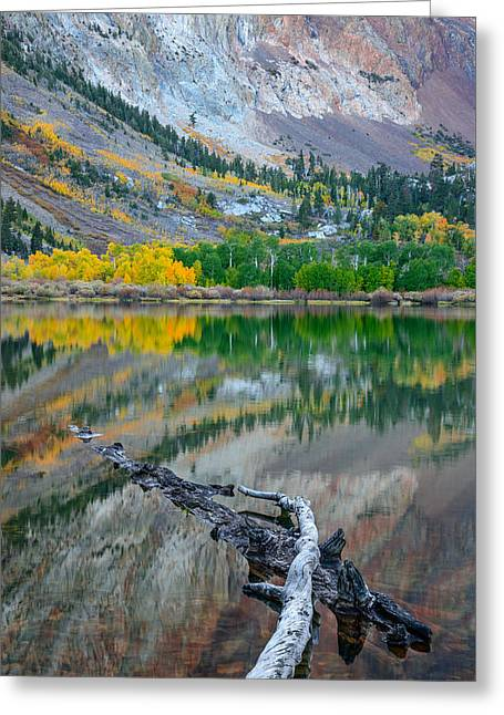 Parker Lake Greeting Card by Alexander Kunz