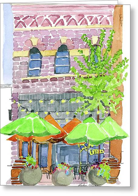 Parker's Bistro Greeting Card