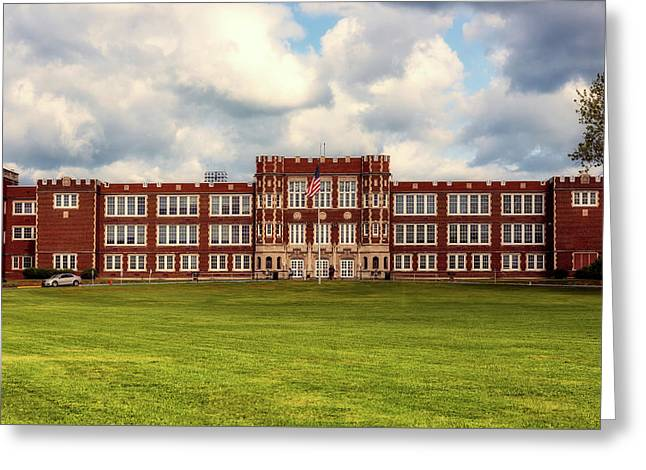 Parkersburg High School - West Virginia Greeting Card by L O C