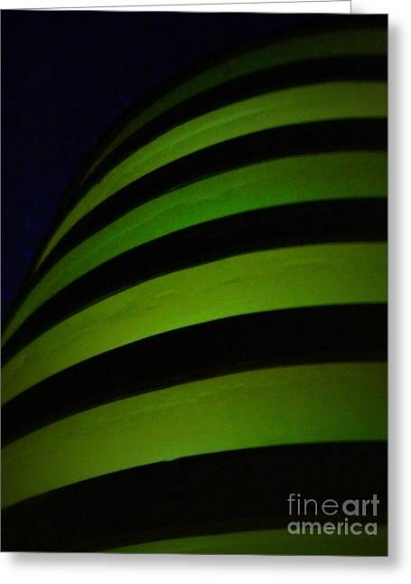 Parking Garage, Pittsburgh, Pa  Greeting Card by Len-Stanley Yesh