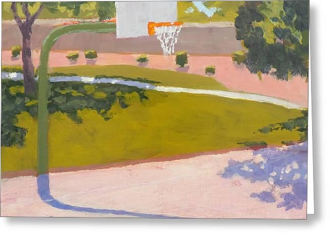 Parkside Hoops Greeting Card