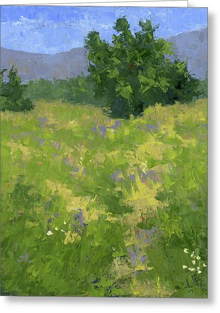 Parkway Spring Oil Greeting Card