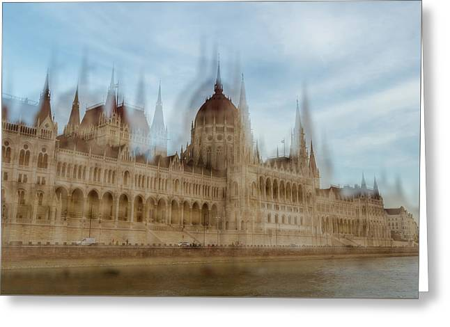 Greeting Card featuring the photograph Parliamentary Procedure by Alex Lapidus