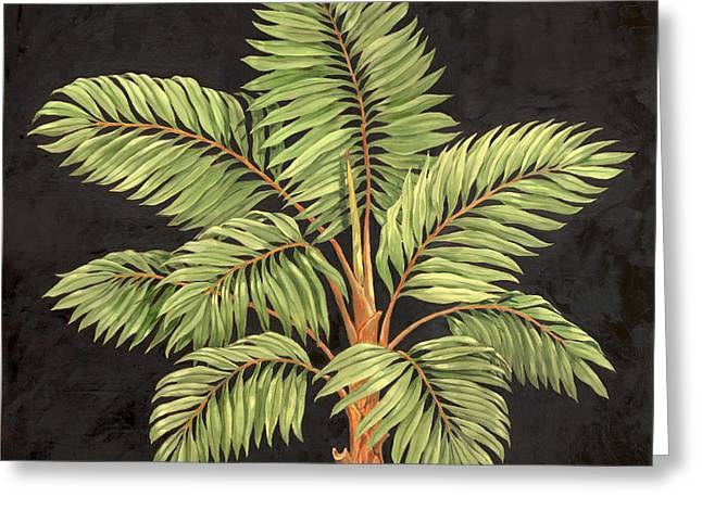 Parlor Palm I Greeting Card by Paul Brent