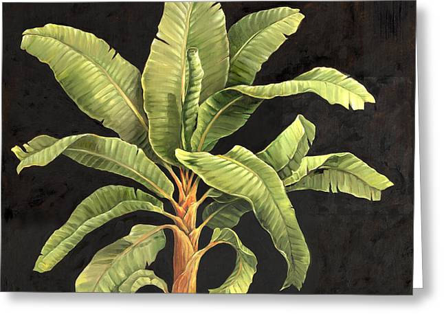 Parlor Palm II Greeting Card by Paul Brent