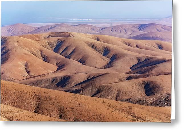 Parque Rural De Betancuria - Fuerteventura Greeting Card