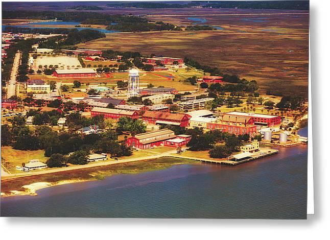 Parris Island - Marine Recruit Depot Greeting Card