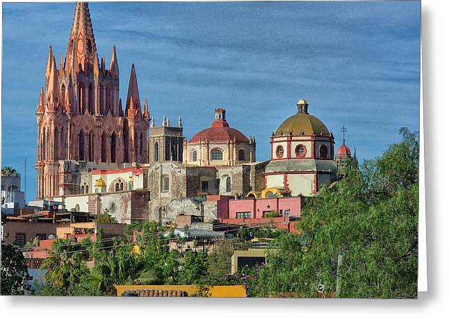 Parroquia  Greeting Card by Nicola Fiscarelli