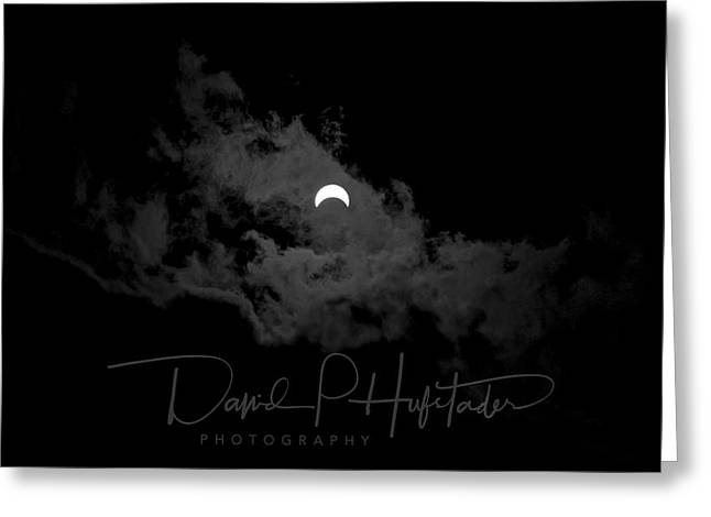 Partial Eclipse, Signed. Greeting Card