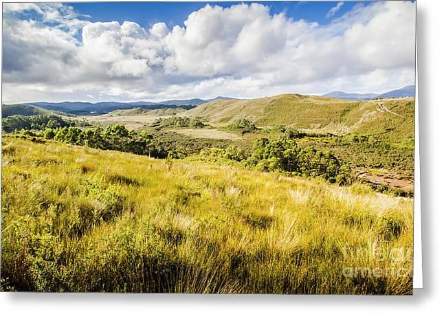 Parting Creek Regional Reserve Tasmania Greeting Card