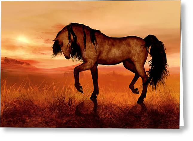 Paso Fino Greeting Card