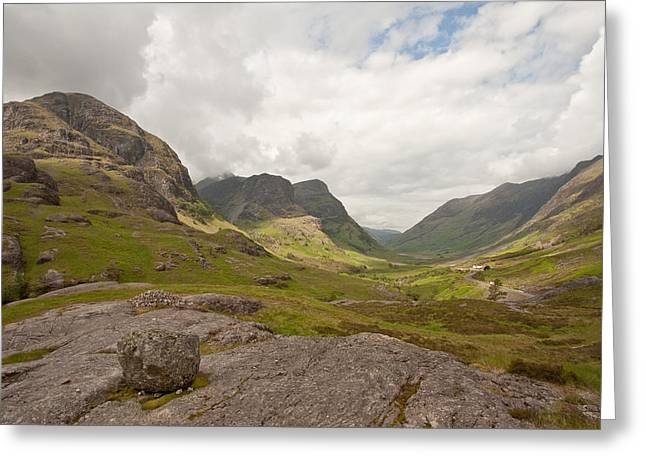 Pass Of Glencoe Greeting Card