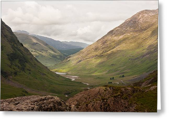 Pass Of Glencoe II Greeting Card