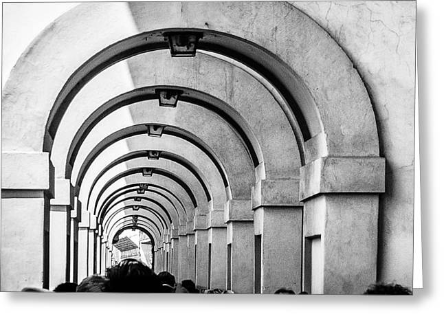 Passageway At The Arno Greeting Card