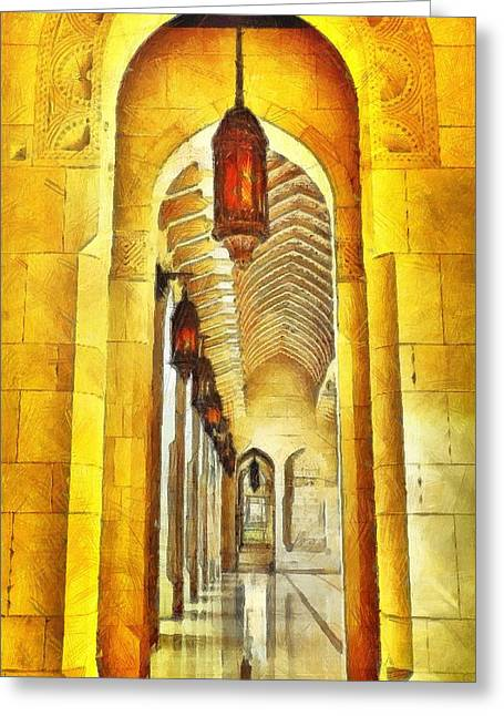 Passageway Greeting Card