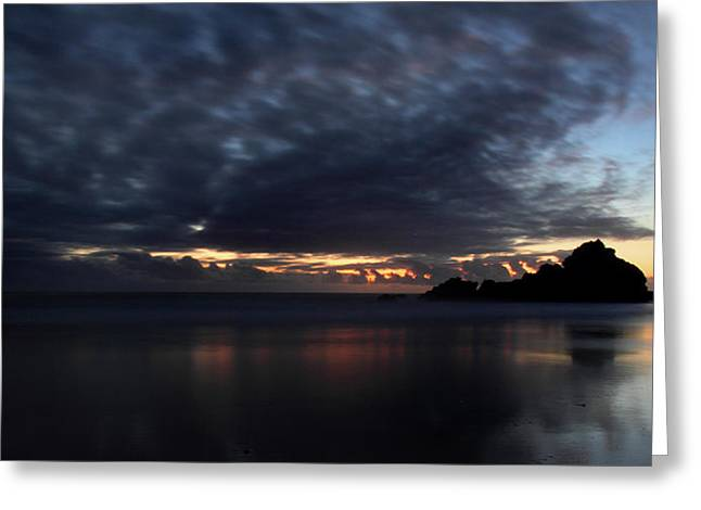Passing Clouds In Big Sur Greeting Card by Pierre Leclerc Photography