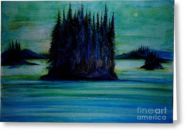 Passing Land Of British Columbia  Greeting Card by Anna  Duyunova