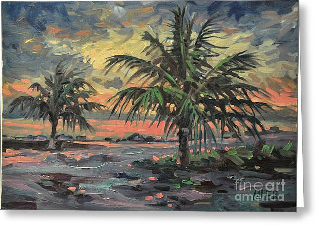 Passing Storm Greeting Card by Donald Maier