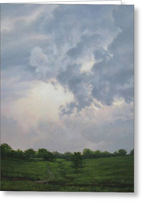 Passing Storm Greeting Card by Stephen Howell