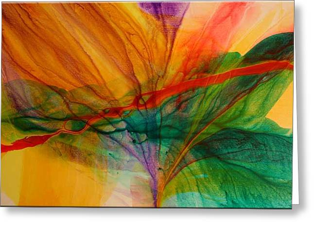 Passion Greeting Card by Andy Morris