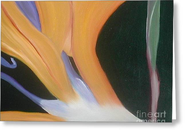 Passion Unfolding 2 Greeting Card by Lori Jacobus-Crawford